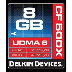 Adorama - Delkin CompactFlash 500X UDMA 6 Memory Cards