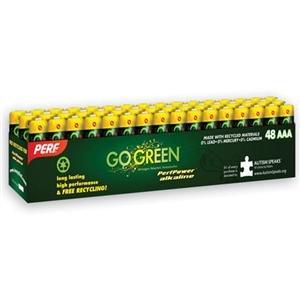 Adorama - PerfPower AAA Alkaline Batteries - 48 Pack