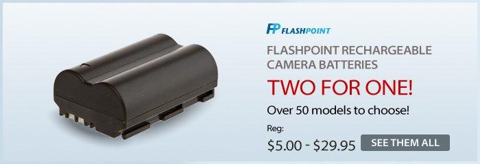 Adorama - Flashpoint Battery Sale
