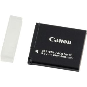 Adorama - Canon NB-8L Rechargeable Lithium-ion Battery for Powershot A3000 IS & A3100 IS Digital Cameras