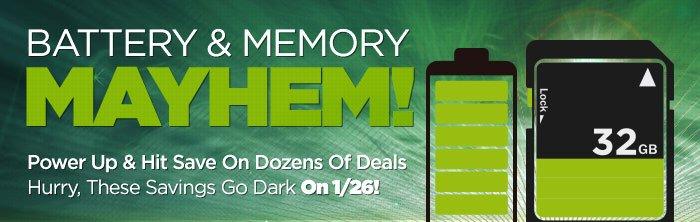 Battery & Memory Mayhem
