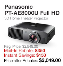 Panasonic HD Projector