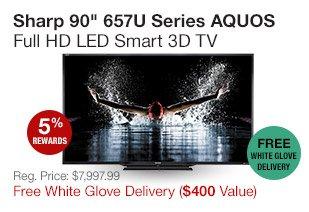 Sharp 90 3D TV