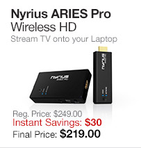 Nyrius ARIES Pro