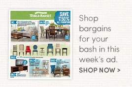 Shop Bargains in this week's ad
