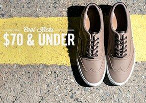 Shop Cool Kicks: $70 & Under