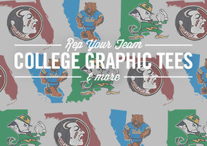 Shop College Tees & More ALL Under $30