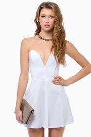 Deep in Love Sweetheart Dress