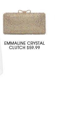 Emmaline crystal clutch.