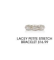 Lacey Petite Stretch Bracelet.