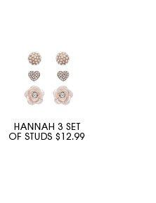 Hannah set of studs.