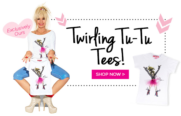 Twirling Tu-Tu Tees! Shop Now