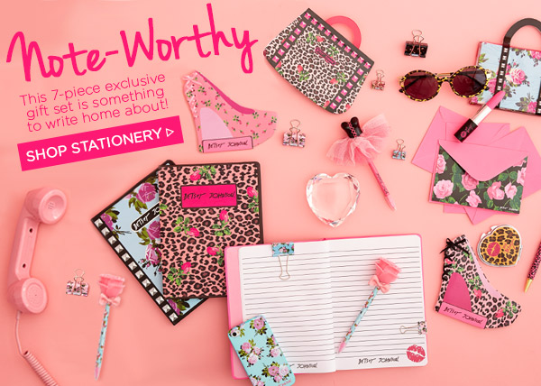 Note-Worthy! Shop Stationery