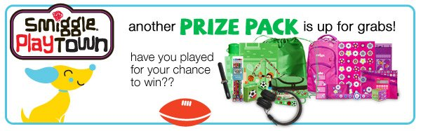 smiggle playtown - another prize pack is up for grabs! have you played for your chance to win??