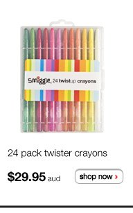 24 pack twister crayons - $29.95aud - shop now >