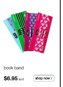 book band - $6.95aud - shop now >