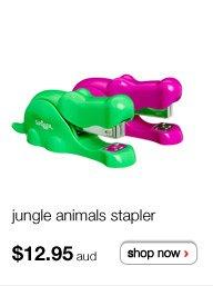 jungle animals stapler - $12.95aud - shop now >