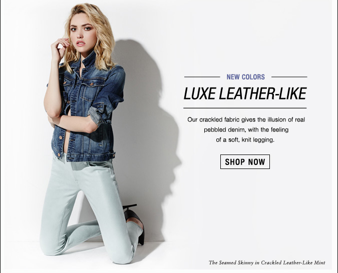 Luxe Leather-Like Shop Now