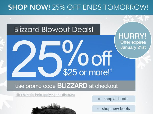 25% Off Is Coming To An End...