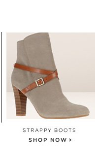 STRAPPY BOOTS SHOP NOW