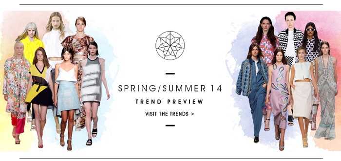 TREND PREVIEW VISIT THE TRENDS