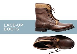 Up to 70% Off: Lace-up Boots