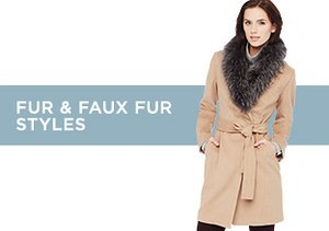 Up to 80% Off: Fur & Faux Fur Styles