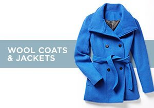 Up to 85% Off: Wool Coats & Jackets