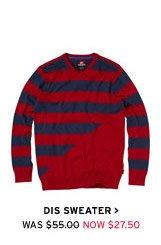 Dis Sweater  - Now $27.50