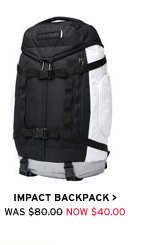 Impact Backpack  - Now $40.00