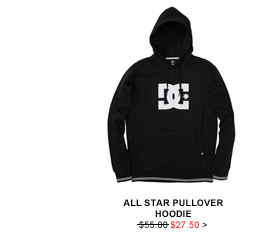 All Star Pullover Hoodie $27.50