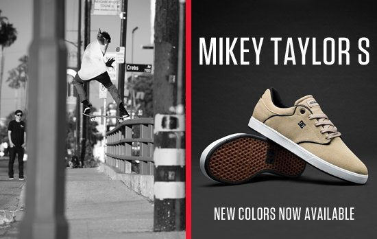 Mikey Taylor Shoe Mikey Taylor s New Colors