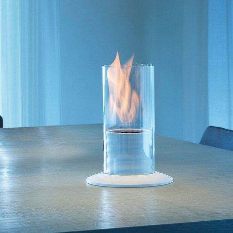 Gasper Mini Bio-Fireplace  // White