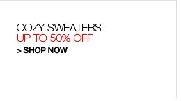 Shop Sweaters, Up to 50% Off