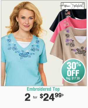 Shop Embroidered Top