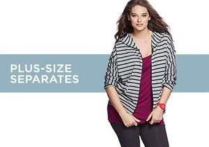 Up to 80% Off: Plus-Size Separates