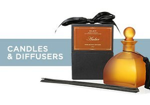 Up to 75% Off: Candles & Diffusers