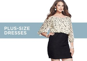 Up to 80% Off: Plus-Size Dresses