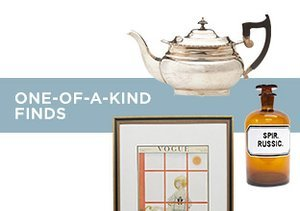 Up to 75% Off: One-of-a-Kind Finds
