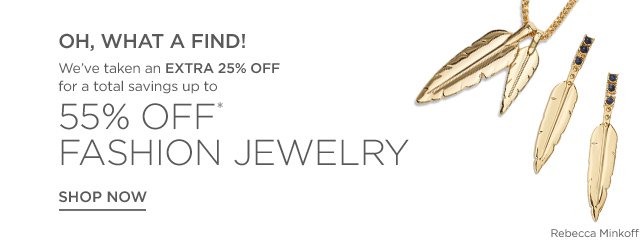 Up to 55% Off Fashion Jewelry