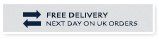 Free delivery next day on UK orders