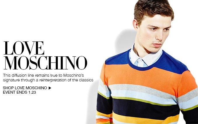 Shop Love Moschino for Men