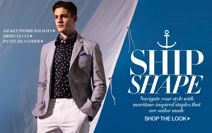 Shop The Look: Nautical