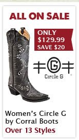 Womens Circle G by Corral Boots