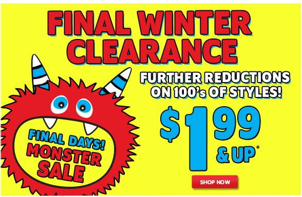Extra 60% off Clearance!