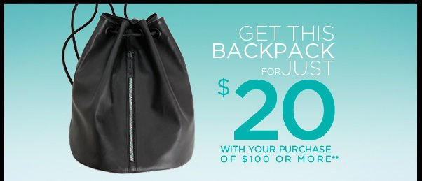 Get this backpack for just $20