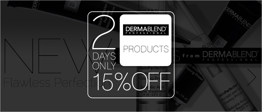 15% Off Dermablend - 2 Days Only