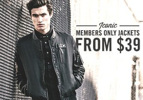 Shop Iconic Members Only Jackets from $39