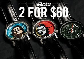 Shop 2 for $60 Watches