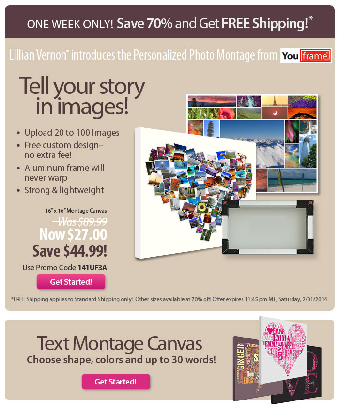 Tell your story in Images! - Save 70% + Free shipping!